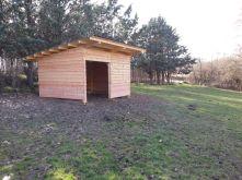 Cabane pour ânes
