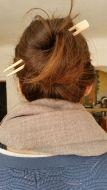 Baguettes à cheveux